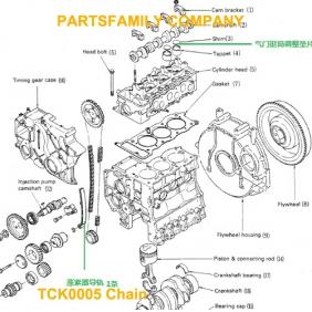 isuzu 3kc1 pacifier chain tensioner tck0005 0 00 partsfamily net rh partsfamily net 2002 Isuzu Rodeo Parts Diagram Isuzu Trooper Parts and Schematics